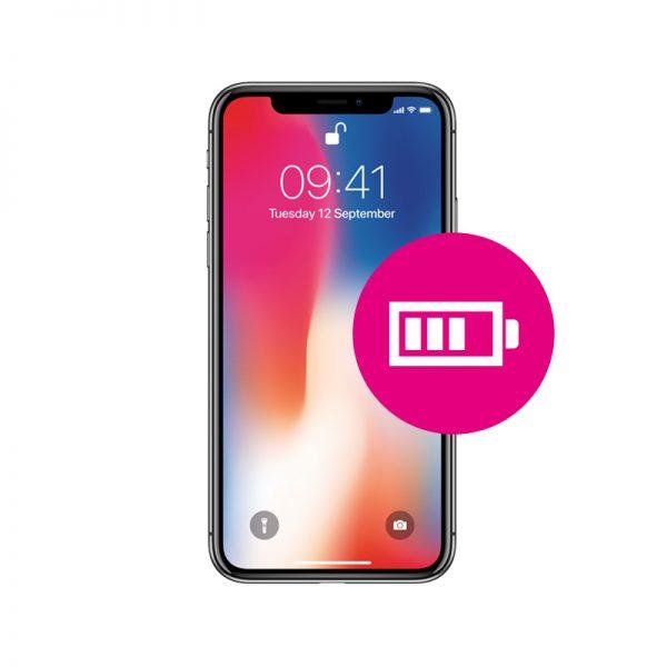 iphone x batterij vervangen almelo