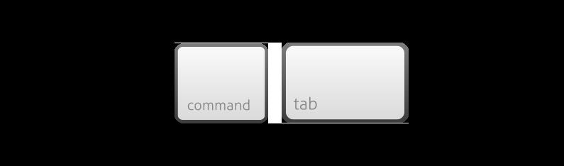 command-tab