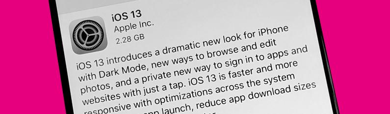 iOS update via iTunes